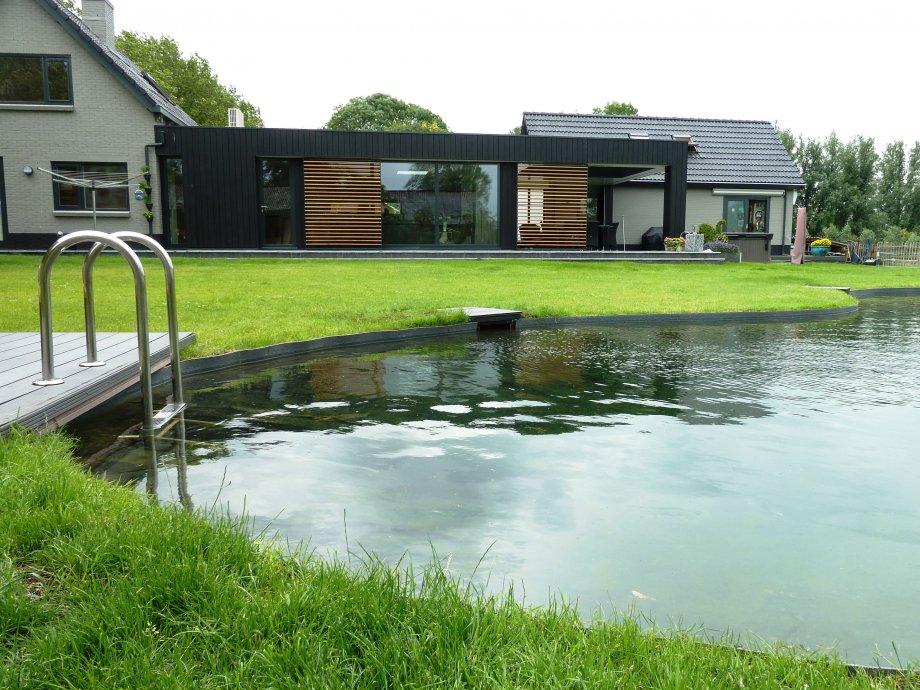 Zwemvijver te harmelen hb watertechnologie for Zwemvijver filtersysteem
